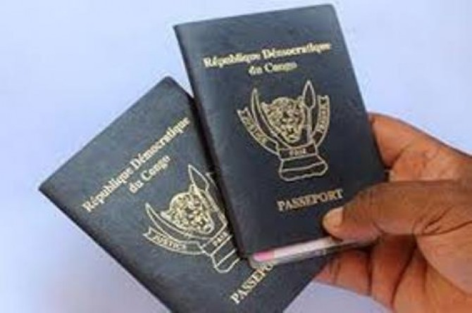 Img : EU suspends visa on semi-biometric DR Congolese passports