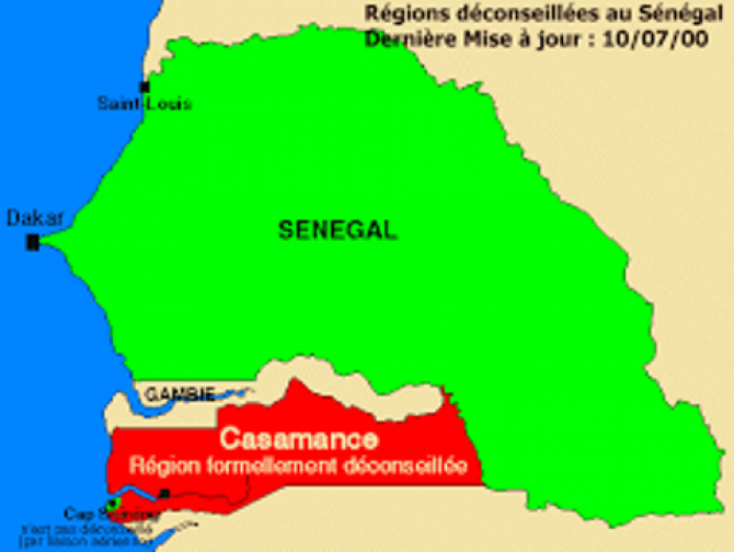 Img : Spanish tourists attacked by armed men in Casamance