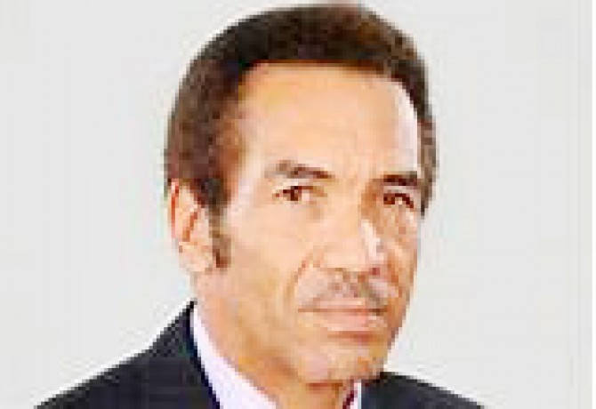 Img : Botswana President, VP fingered in fraud case