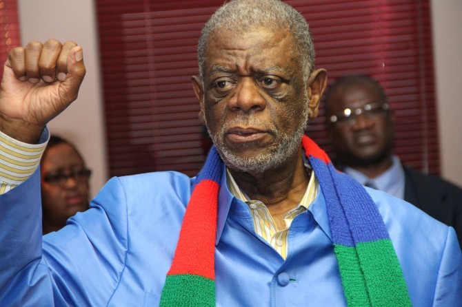 Img : Namibia's former PM Gurirab dies
